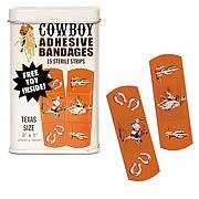 Cowboy Adhesive Bandages