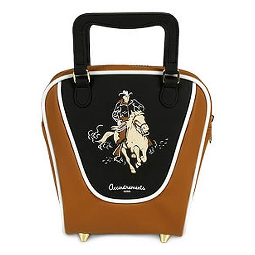 Cowboy Mini Bowling Bag Purse