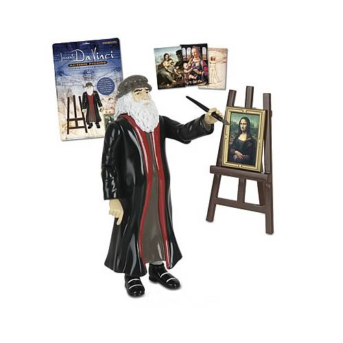 Leonardo da Vinci Action Figure