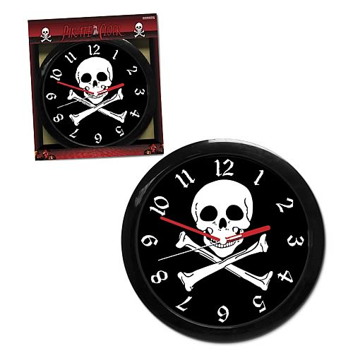 Pirate Clock