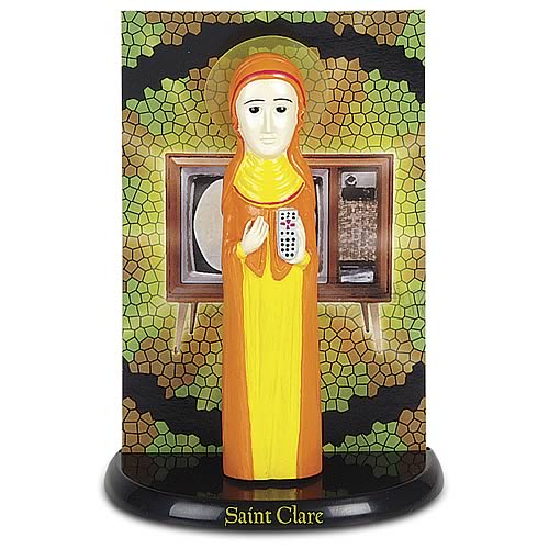 St. Clare, Patron Saint of Television