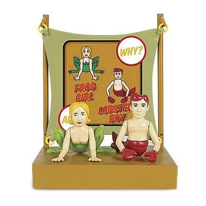 L'il Sideshow Lobster Boy & Frog Girl Figure Set