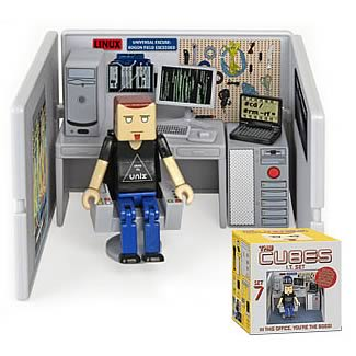 The Cubes 7: Tim with IT Mini-Figure Playset