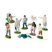 Flesh Eating Zombies Figure Set