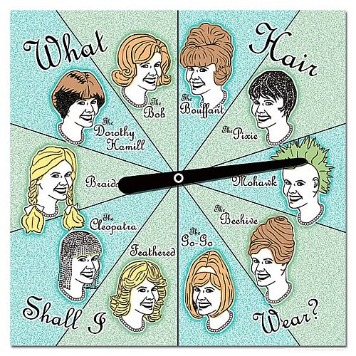 What Hair Shall I Wear? Decision Spinner
