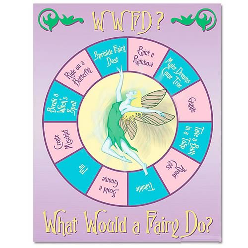 What Would a Fairy Do? Spin Folder