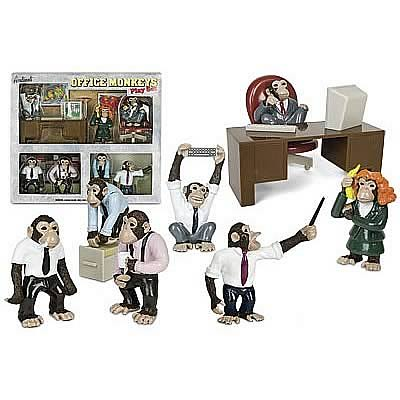 Office Monkeys Play Set