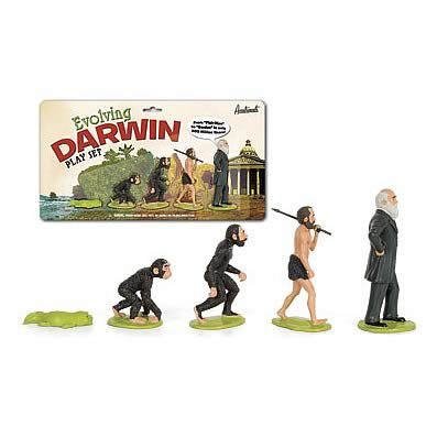 Evolving Darwin Action Figure Playset