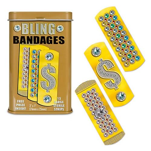 Bling Adhesive Bandages