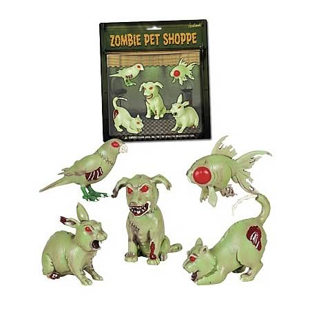 Zombie Pet Shoppe Figures