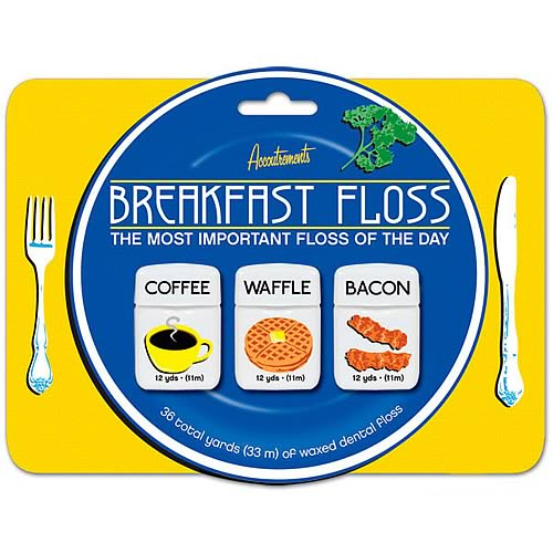 Breakfast Floss 3-Pack