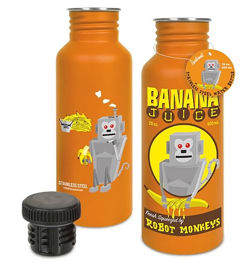Banana Juice Stainless Steel Water Bottle