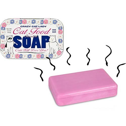 Crazy Cat Lady Cat Food Soap