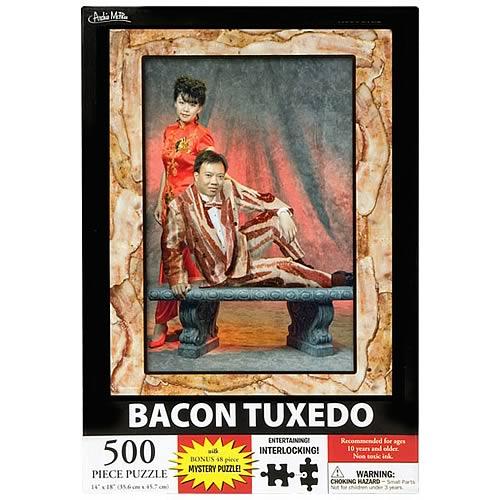 Bacon Tuxedo 500-Piece Puzzle