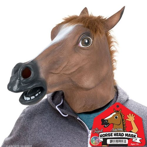 Horse Head Latex Mask