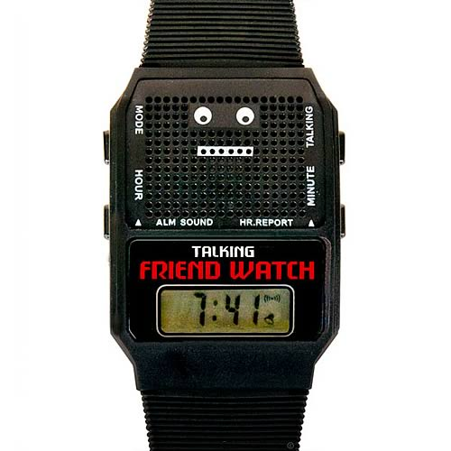 Talking Friend Watch