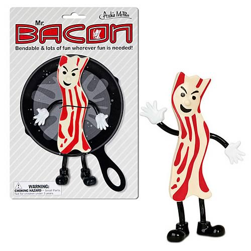 Mr. Bacon Bendable Figure