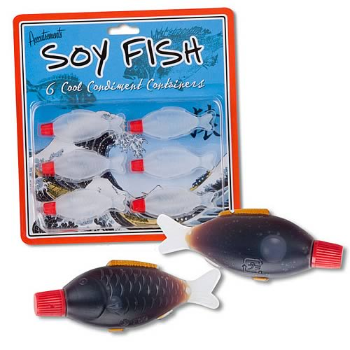 Soy Fish Containers