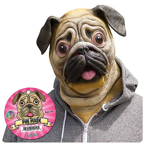 Pug Latex Adult Mask