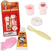 Bathroom Eraser Set