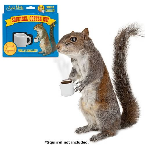 Squirrel Mini Coffee Cup