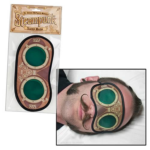 Steampunk Polyester Sleep Mask