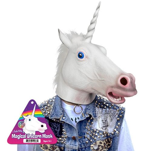 Magical Unicorn Latex Full Head Mask