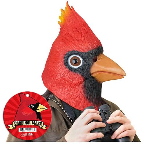 Cardinal Latex Full Head Mask