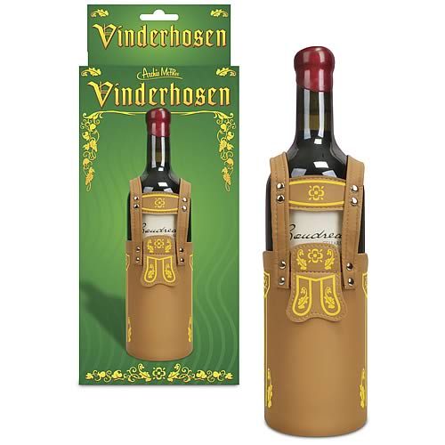 Vinderhosen Lederhosen Wine Bottle Sleeve