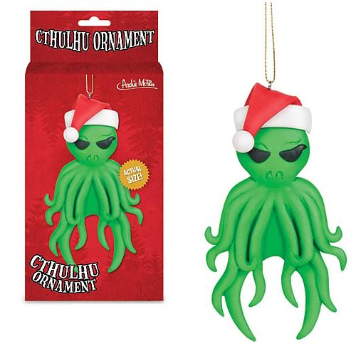 Santa Claus Cthulhu Christmas Ornament