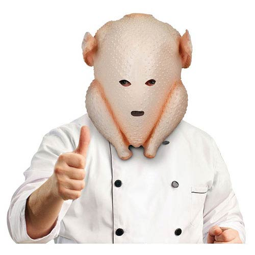 Clumsy Cook Turkey Latex Mask