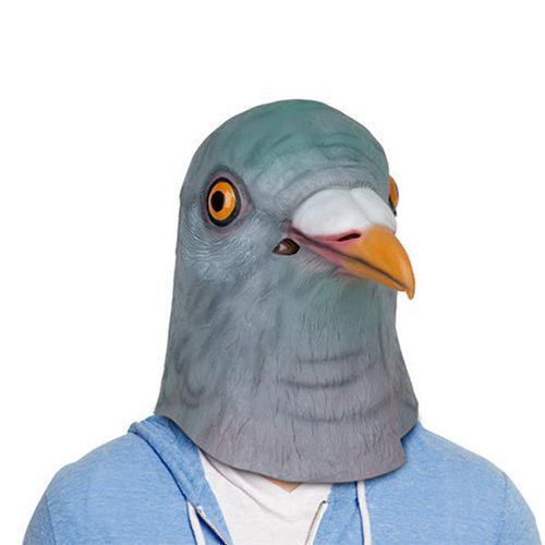 Pigeon Latex Full Head Mask