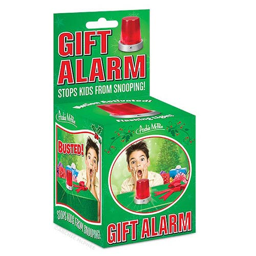 Gift Alarm with Flashing Red Light