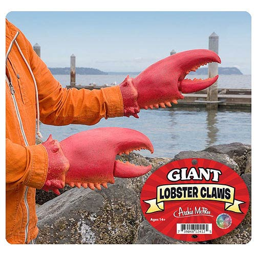 Giant Lobster Claws 2-Pack