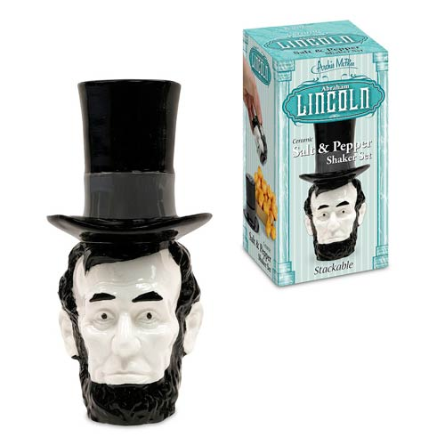 Abraham Lincoln Salt and Pepper Shaker Set