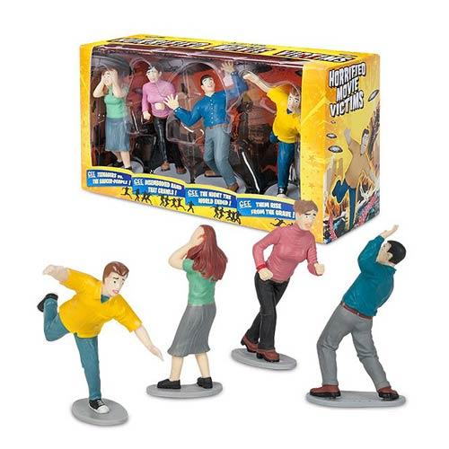 Horrified Movie Victims Vinyl Mini-Figure Box Set