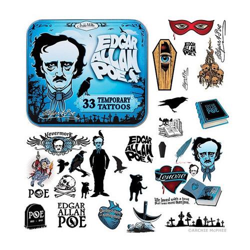 Edgar Allan Poe Tattoos