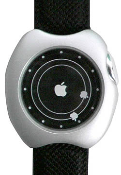 AppleWatch:Planet Apple Silver