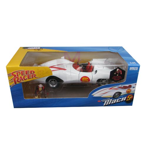 Speed Racer Mach 5 1:18 Scale Die-Cast Metal Vehicle