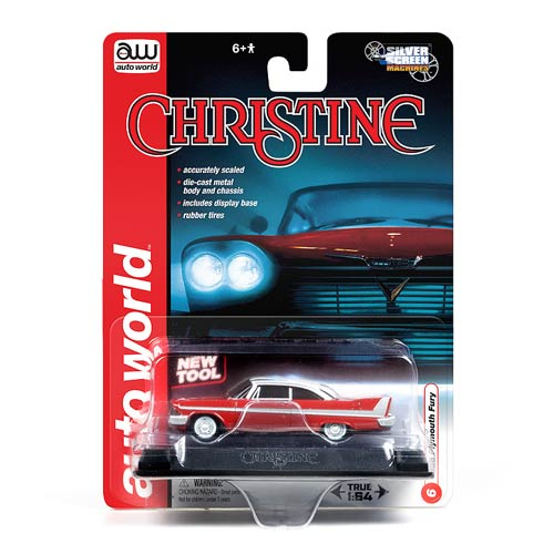 Christine Movie Plymouth Fury 1:64 Die-Cast Metal Vehicle