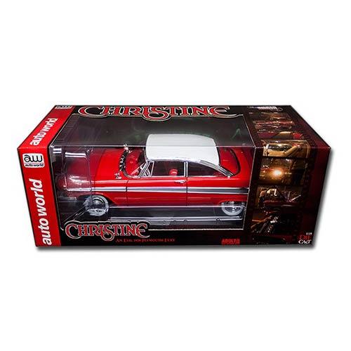 Christine Movie Plymouth Fury 1:18 Die-Cast Metal Vehicle
