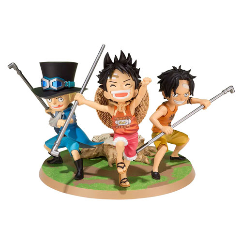 One Piece A Promise of Brothers Figuarts ZERO Statue