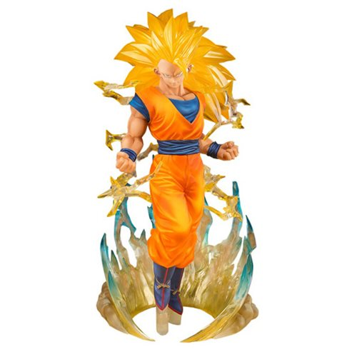 Dragon Ball Z Son Goku Super Saiyan 3 Figuarts ZERO Statue