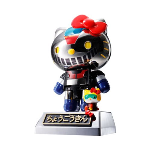 Hello Kitty Mazinger Z Color Chogokin Die-Cast Action Figure