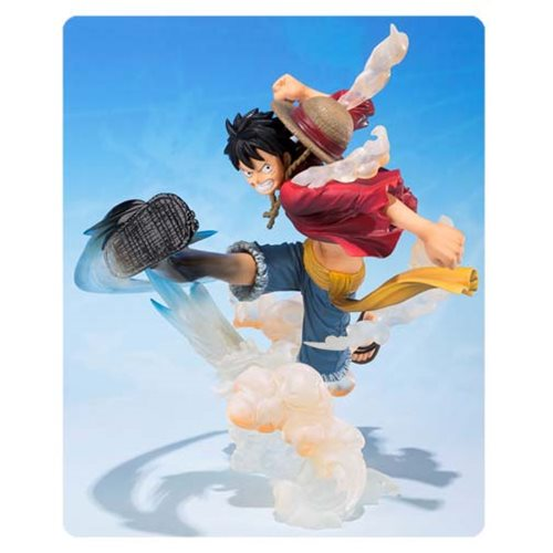 One Piece Monkey D. Luffy Gum Gum Hawk Whip Statue
