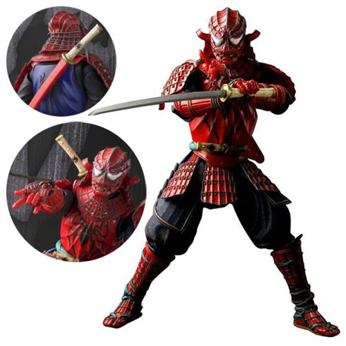 Spider-Man Goes Samurai