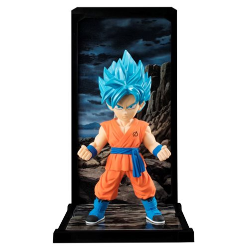 Dragon Ball Super Goku SSGSS Tamashii Buddies Mini-Statue