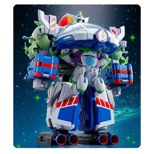 Toy Story Chogattai Buzz the Space Ranger Robo Chogokin Die-Cast Metal Action Figure