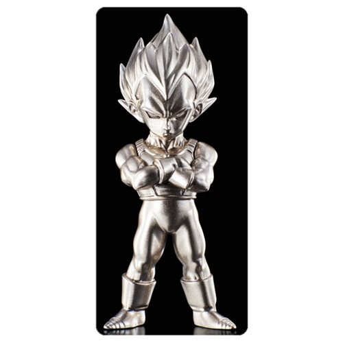 DBZ SS Vegeta Absolute Chogokin Die-Cast Metal Mini-Figure