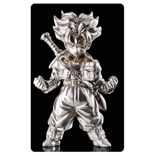 DBZ SS Trunks Absolute Chogokin Die-Cast Metal Mini-Figure